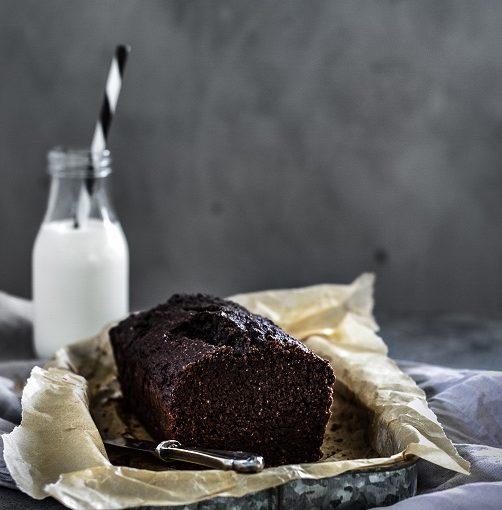 Čokoládový tofu chléb