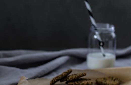 Pistáciové ovesné sušenky
