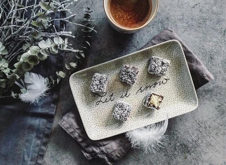 Kokosové kostky aneb lamington cake