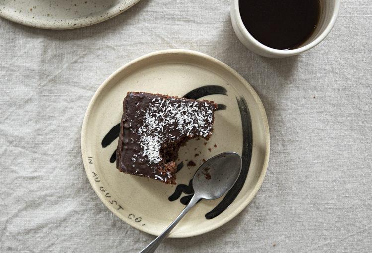 Rychlý perník s čokoládovou polevou