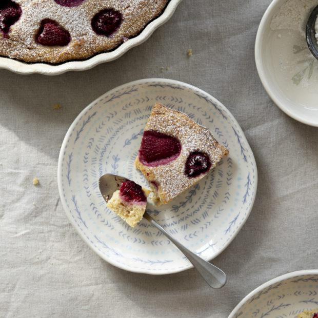 Tradiční italský ricottový koláč s citrónem